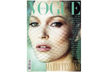 Kate Moss Mario Testino Vogue Spain Cover