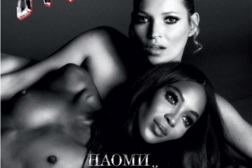 Kate Moss & Naomi Campbell for Interview Russia December 2012