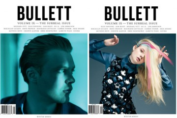 Elle Fanning & Michael Pitt for BULLETT Winter 2013