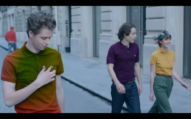 Lacoste presents the Polo Shirt of the Future