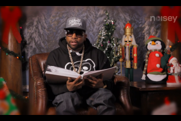 Big Boi of Outkast Reads How the Grinch Stole Christmas