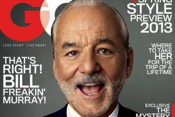 Bill Murray for GQ January 2013