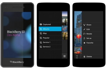 Black Berry 10 Phone preview
