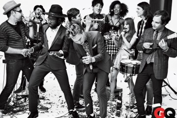 Grizzly Bear, Solange, Blood Orange, & Dirty Projectors for GQ January 2013