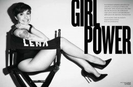 Lena Dunham for V Magazine by Terry Richardson
