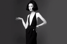 Fei Fei Sun for Vogue Italia January 2013 Backstage Video
