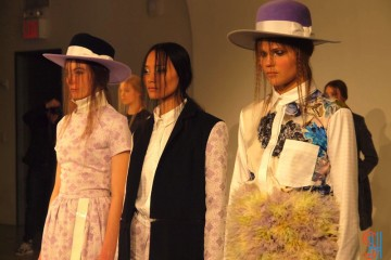 Louise Amstrup Fall Winter 2013 at NYFW