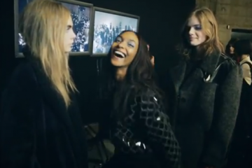 Jourdan Dunn, Cara Delevingne and Rosie Tapner do the Harlem Shake