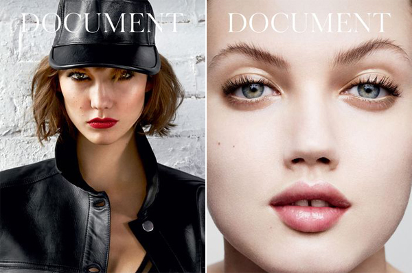 Karlie Kloss Lindsey Wixson Document No.2