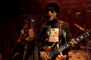 Prince visits Late Night With Jimmy Fallon