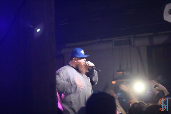 Action Bronson at Canadian Music Festival 2013-2