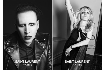 Saint Laurent Music Project Marilyn Manson Courtney Pink