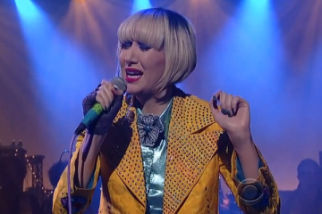 Yeah Yeah Yeahs on Late Show With David Letterman