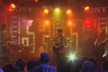 Foals perform Inhaler on Jimmy Kimmel Live