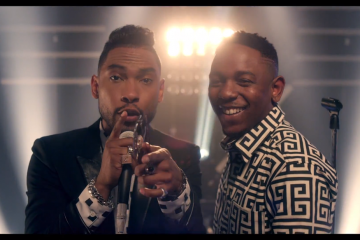 Miguel How Many Drinks Remix  Kendrick Lamar Video