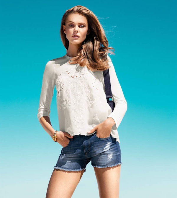 Frida Gustavsson for H&M Spring 2013 Style Book-9