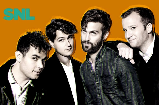 Vampire Weekend on Saturday Night Live