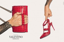 Valentino Fall Winter Accessories Campaign by Terry Richardson