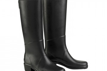 Aigle Miss Juliette Satin Rubber Boots