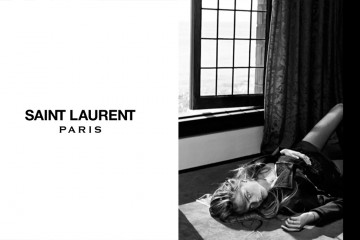 Saint Laurent Fall Winter 2013 Cara Delevingne Cole Smith