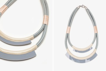 Orly Genger by Jaclyn Mayer bea necklace