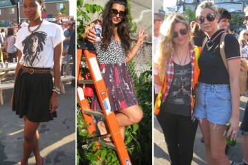 NXNE 2013 Jagermeister & Exclaim! BBQ Street Style