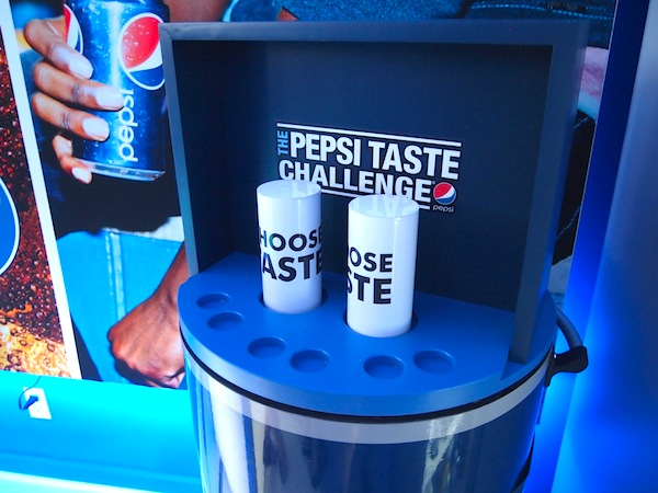 Manual Taste Challenge at Pepsi Pop Up Toronto