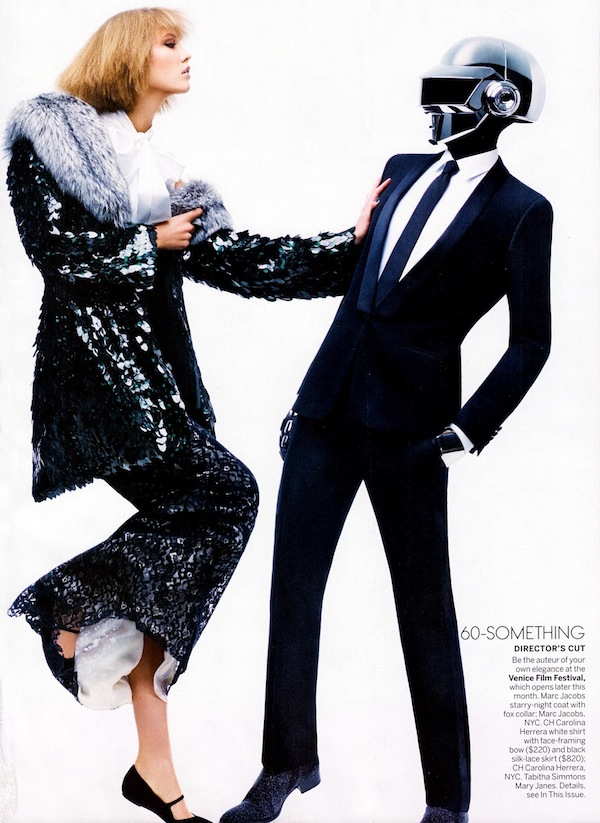 Karlie Kloss & Daft Punk for Vogue US-9