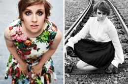 Lena Dunham for Marie Claire October 2013