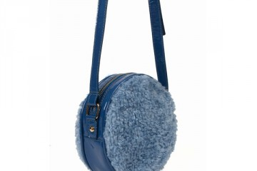 Chloe Sevigny for Opening Ceremony Faux Fur Circle Bag