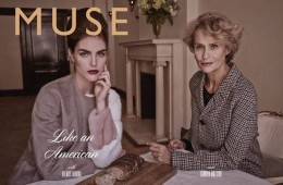 Hilary Rhoda Lauren Hutton Muse