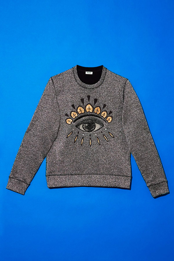 Kenzo Holiday Capsule Collection Embroidered: KENZO Christmas Sweaters