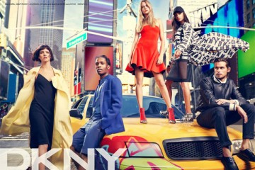ASAP Rocky Stars in DKNY Ad Campaign