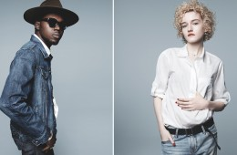 Theophilus London, Anna Calvi, & Ernest Greene for Gap Spring 2014