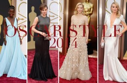 Best Dressed Oscars 2014
