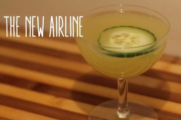 New Airline Cocktail by Sidewalk Hustle