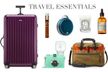 Spring Summer Travel Essentials