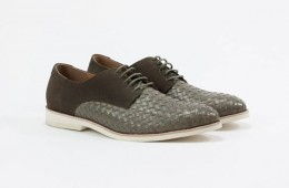 Amsterdam Shoe Co. Lace Up Clay Woven