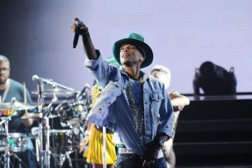 Pharrell Williams Amex Unstaged