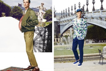 Maison Kitsune SS 2015 Mens Collection