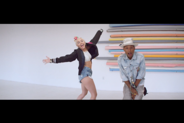 Pharrell Williams ft Miley Cyrus Come Get It Bae Video