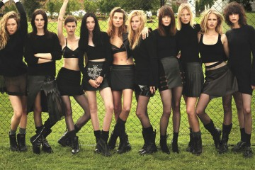 Super Normal Super Models for W Magazine by Mert Marcus-2