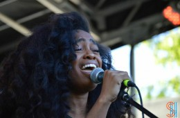SZA at Afrofest 2014 Brooklyn-2
