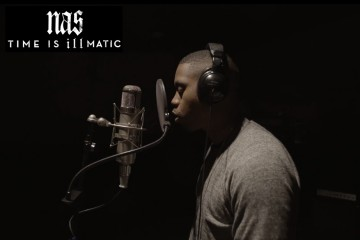 Nas Time is Illmatic Movie Trailer Art