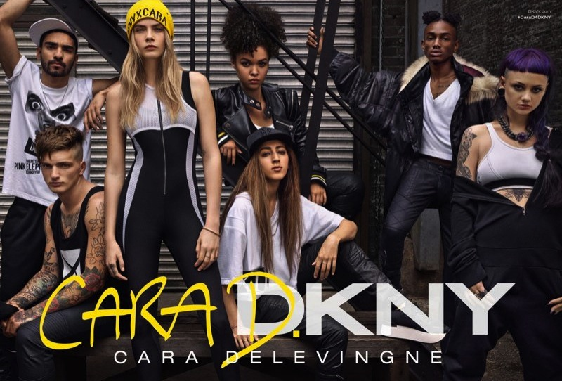 Cara Delevingne for DKNY Fall 2014