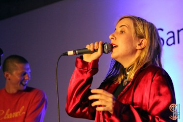 Austra at Samsung Galerie Alpha in Toronto