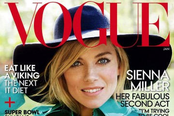Sienna Miller for Vogue Magazine January 2015