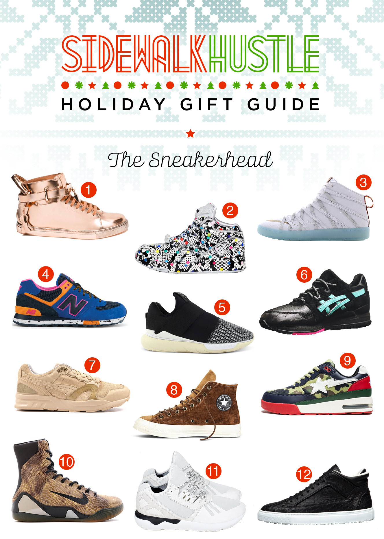 Holiday Gift Guide The Sneakerhead
