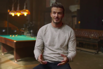 Behind the Scenes with David Beckham for H&M