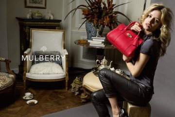 Georgia May Jagger for Mulberry Spring 2015